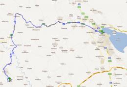 Διχούνι - Ιωάννινα απο παλαιά εθνική οδό