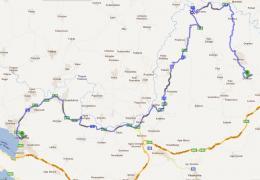 Διχούνι - Ηγουμενίτσα απο παλιά εθνική οδό